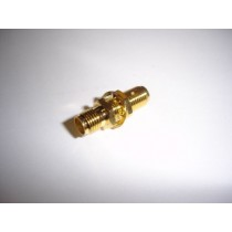 SMA connector Jack/Jack Bulkhead Adapter Gold Plated