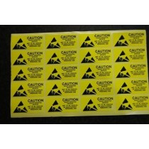 Anti Static Tag 1 Set of 20 stickers