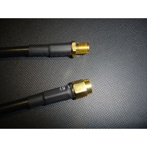 Cable(RG316) SMA Plug/Jack Gold Plated 31cm