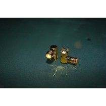 SMA 90 degrees PCB Jack Gold Plated